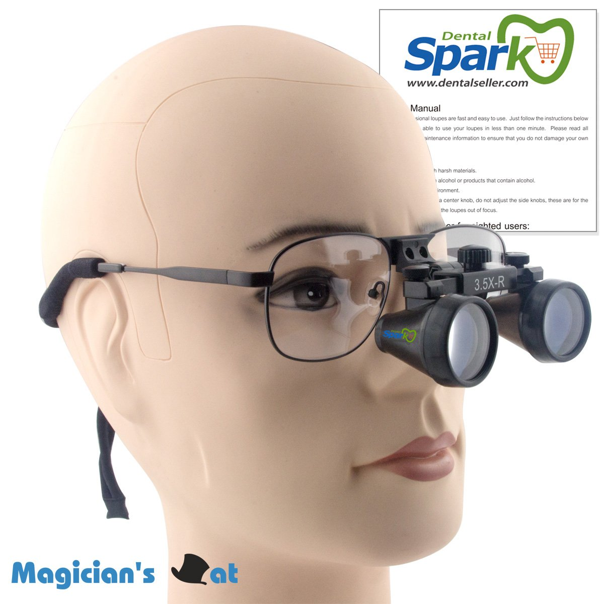 amazon com spark dentist dental magnifier glasses medical optical