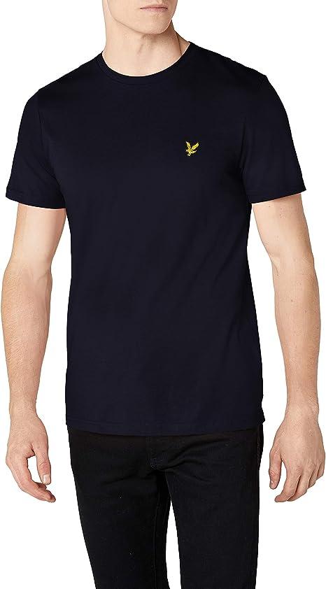 LYLE /& SCOTT Basic Logo Tshirt Navy