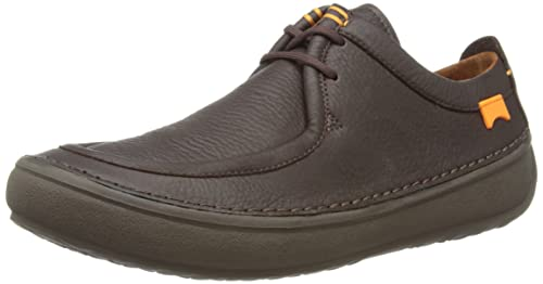Camper 18802 - Mocasines de charol para hombre, color marrón, talla 41: Amazon.es: Zapatos y complementos