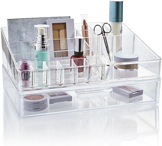 Amazon.com STORi Premium Quality Clear Plastic Cosmetic and