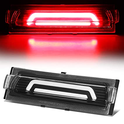 Amazon com: 3D LED Bar Trunk Lid Center Third 3rd Tail Brake
