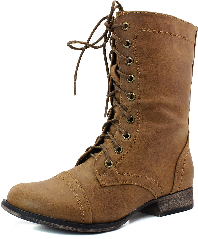 3abfea9d5acdf Amazon.com | Breckelle's Georgia-72 boots, Georgia-32 Tan 6 | Ankle & Bootie