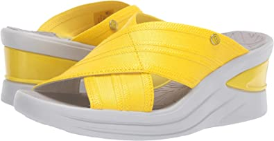 2369adc4481d BZees Women s Vista Blazing Yellow Metallic Fabric 6 ...