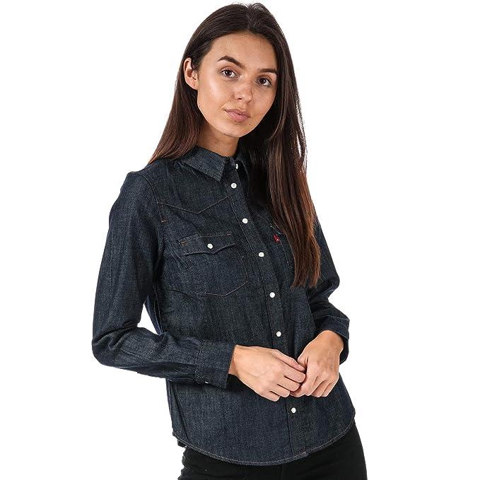 Scuro Xs 24996 0002 ScuroAmazon Blu Donna Jeans Levi's Camicia ymOnNv08w