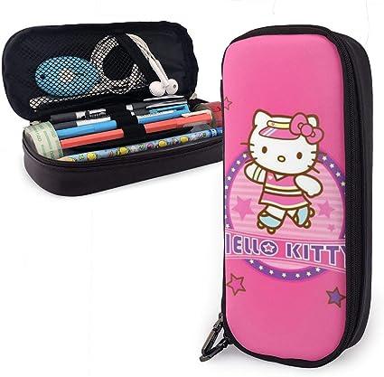 Estuche para lápices, diseño de Hello Kitty, color rosa: Amazon.es: Oficina y papelería