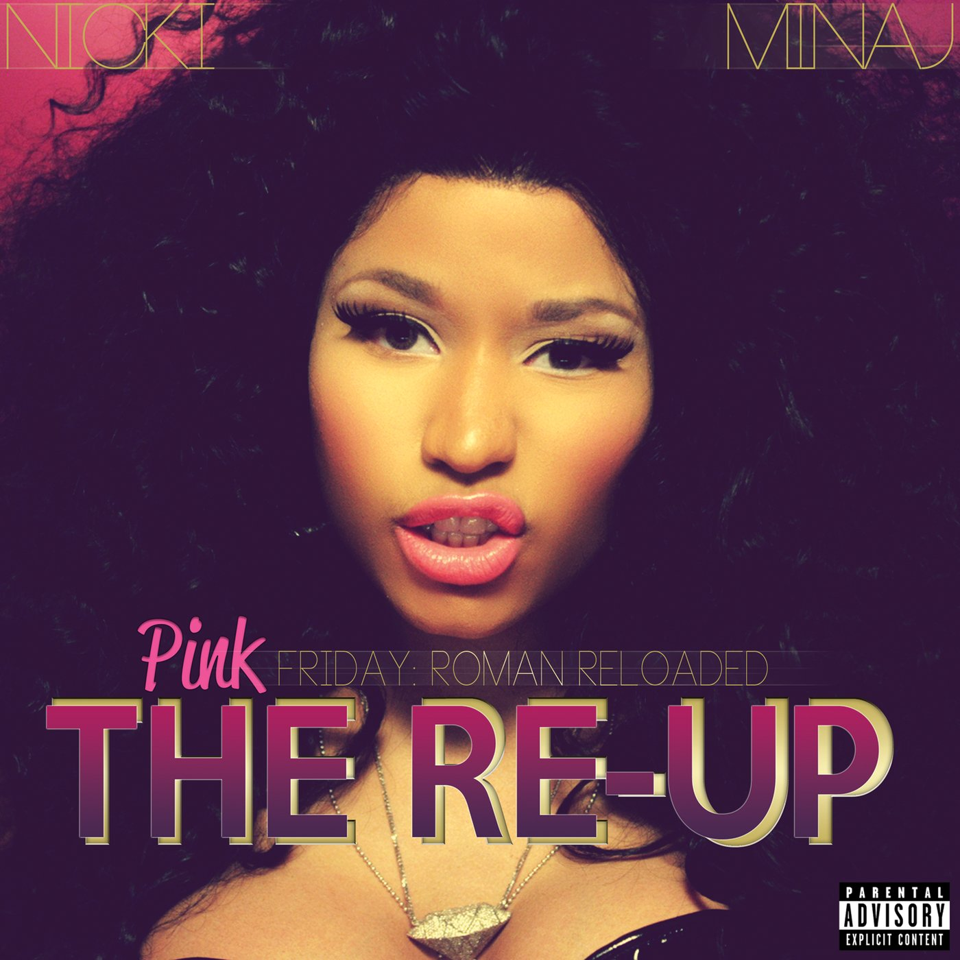 CD : Nicki Minaj - Pink Friday: Roman Reloaded Re-up [2CD/ 1DVD] [Explicit Content] (With DVD, 3 Disc)
