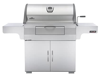 Napoleon Holzkohlegrill Charcoal Rodeo Professional Cart : Amazon napoleon pro css mirage charcoal with rear burner
