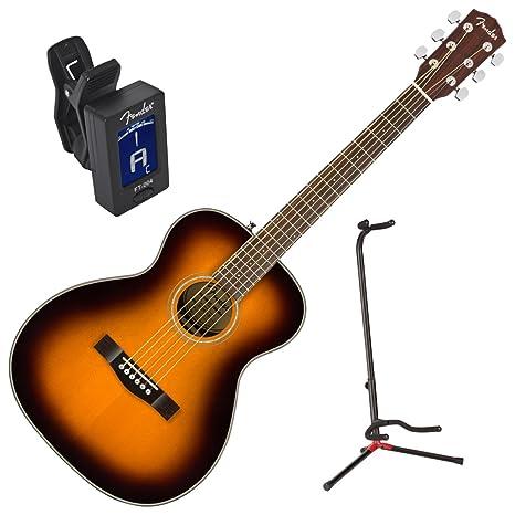 Fender 0962713232 ct-140se SB acústica guitarra eléctrica w/funda ...
