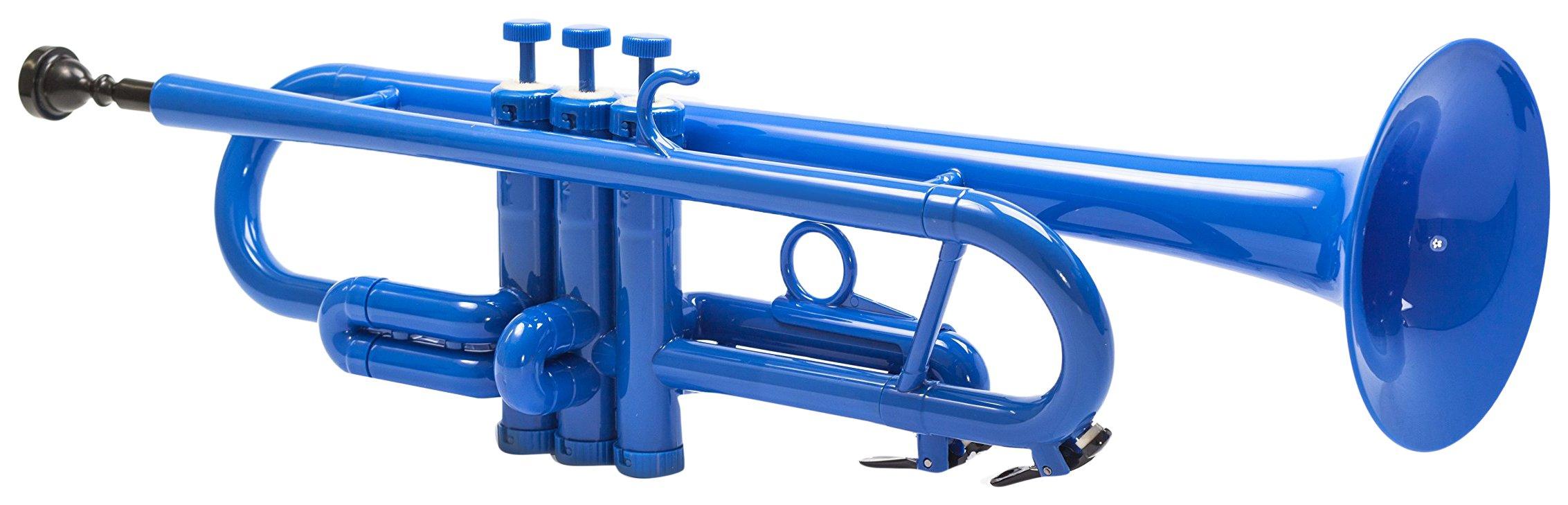 Tromba Plastic Trumpet, Blue by Tromba