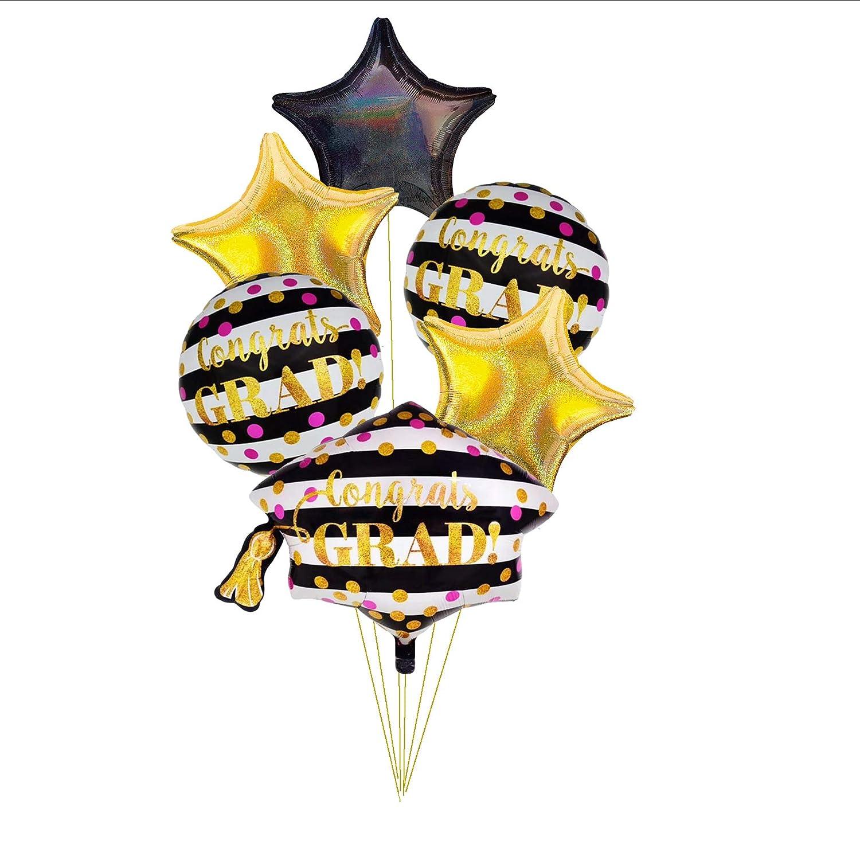 CY Mylar Graduation Cap Balloons Congrats Grad Balloon Graduation Hat Balloons