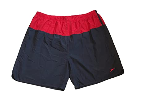 918353aaad Image Unavailable. Image not available for. Color: Speedo Mens Aquagon  Colorblock Volley Shorts Workout ...