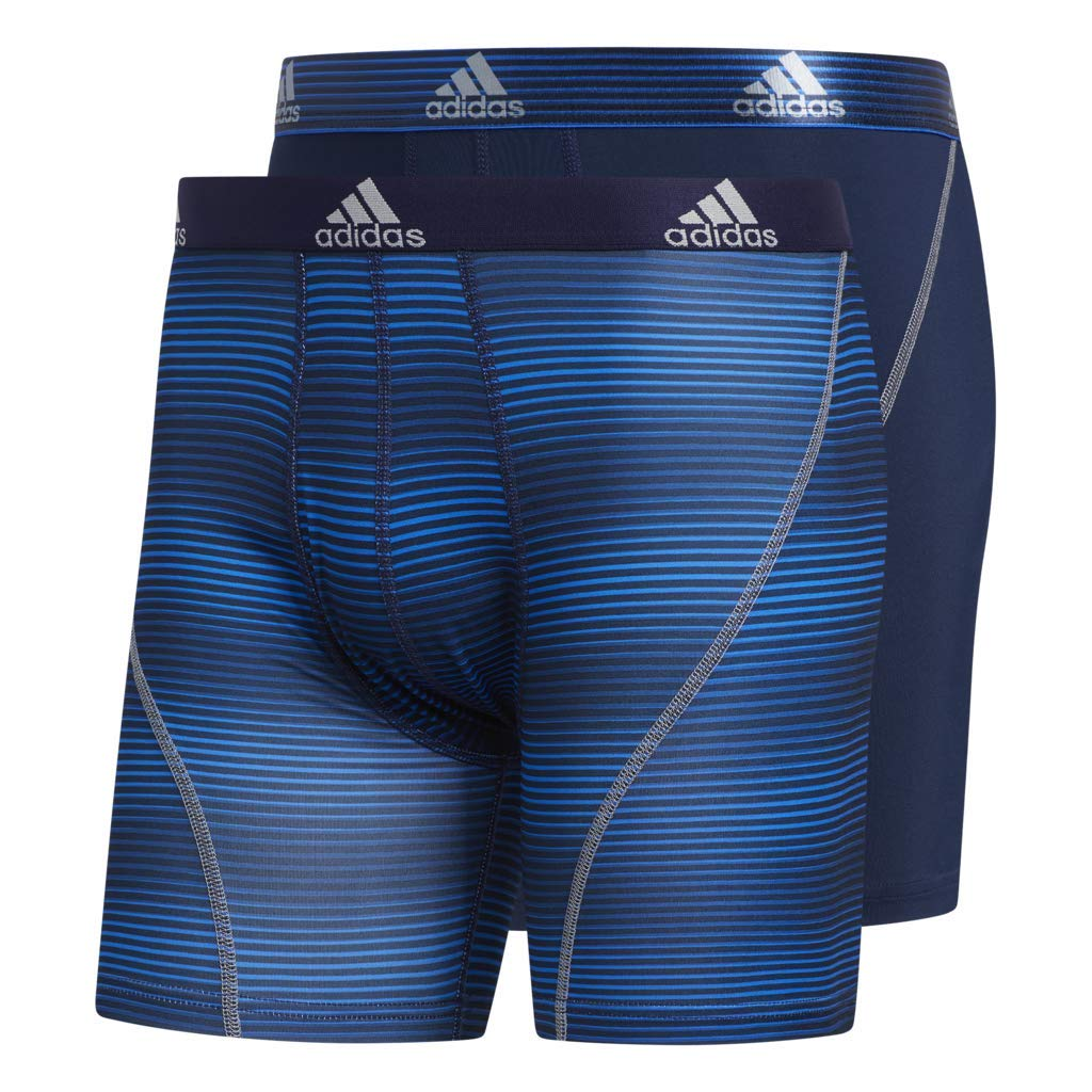738be34f082c65 adidas Men's Sport Performance Climalite Boxer Brief Underwear (2 or 4 Pack)