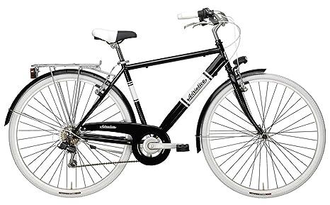 Bicicletta Vintage Da Uomo 28 H50 Cicli Adriatica Panarea Man Nera