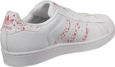 adidas superstar blanc rose femme