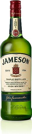 Jameson es un whisky de triple destilación que pasa por un proceso artesanal para conseguir su sabor