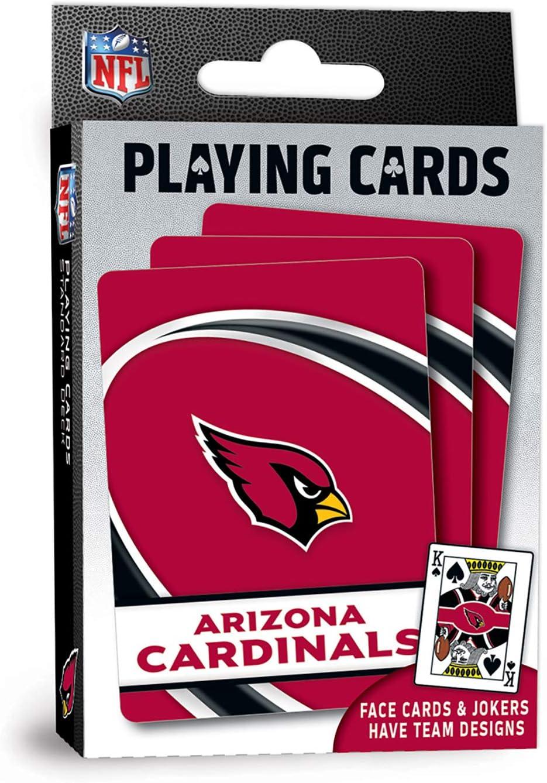 MasterPieces NFL Arizona Cardinals Playing Cards