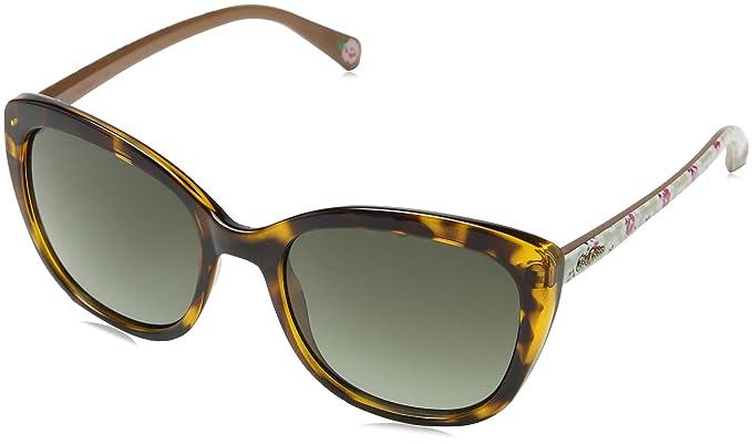 Cath Kidston Ck501112253 Gafas de Sol, Marrón (Tortoise), 53 ...