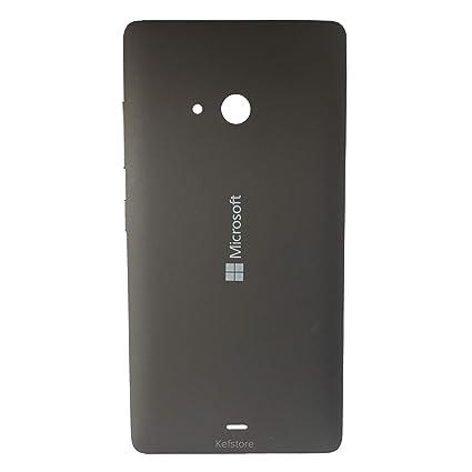 on sale 73cdd 0e1fa Kefstore Battery Back Door Cover Panel for Microsoft Nokia Lumia 540 [Black]