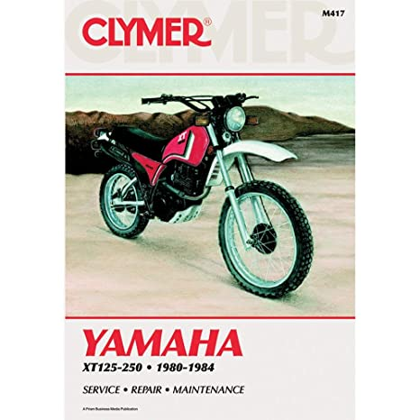 Amazon Clymer Repair Manual For Yamaha Xt125250 8084. Clymer Repair Manual For Yamaha Xt125250 8084. Yamaha. 1983 Yamaha Xt125 Wiring Diagram At Scoala.co
