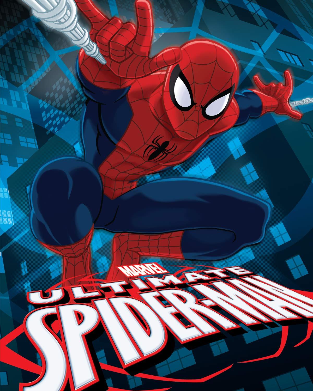 Marvel Children Toddler Spiderman USM - Go Spidey Super Soft Raschel Polyester 40x50 by Marvel