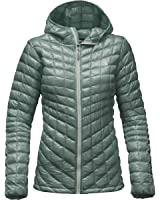 The North Face ThermoBall Hoodie - Women's (Large, Balsam Green)