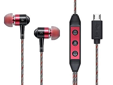 Amazon Com Z Ero Digital Earphone Red Electronics