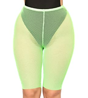 838681ec34 Multitrust Sexy Women See Through Sheer Swimsuit Cover Up Short Pants  Bikini Bottom Cover-up