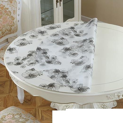 Mantel de mesa redonda, mantel de pvc [],impermeable,a prueba de ...