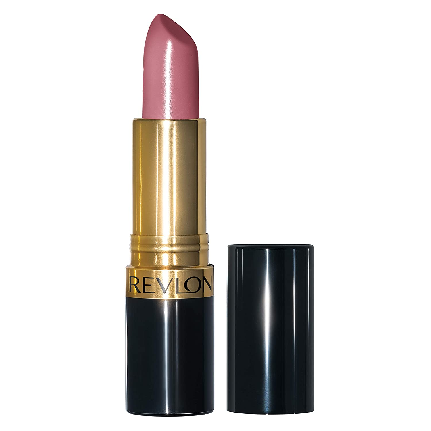Revlon Super Lustrous Lipstick with Vitamin E and Avocado Oil, Cream Lipstick in Mauve, 764 On the Mauve
