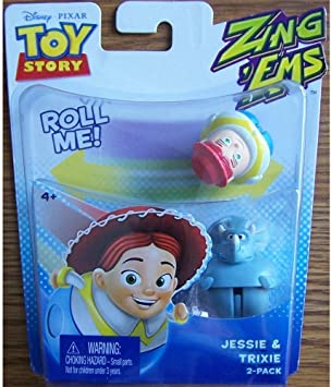 Amazon.es: Disney Pixar Toy Story ZingEms - Jessie & Trixie 2 ...