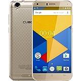 Cubot Manito 4G LTE Smartphone 5.0 Zoll HD Display, 3GB RAM 16GB ROM Android 6.0, MTK6737 Quad Core 13MP + 5MP Kamera, Dual SIM (Micro SIM + NANO SIM + TF Karte) ohne Vertrag Gold