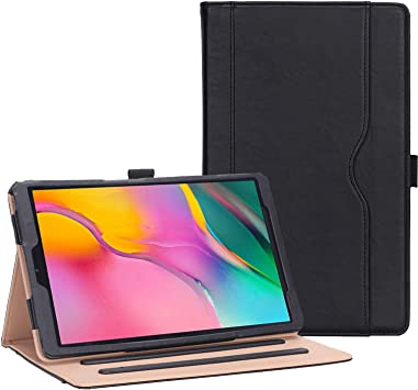 Amazon Com Procase Galaxy Tab A 10 1 Case 2019 Model T510 T515 T517 Stand Folio Case Cover For Galaxy Tab A 10 1 Inch 2019 Tablet Sm T510 Sm T515 Sm T517 Black Computers Accessories