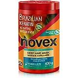 Novex Brazilian Keratin Hair Care Treatment Cream 14.1 Ounce, 14.1 Ounces