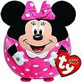 Ty - Bola de peluche con diseño de Minnie Mouse y sonido, 15 cm,