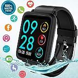 Amazon.com : Fitness Tracker Smart Watch for Women Men iOS ...