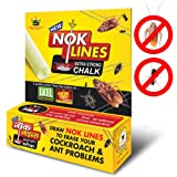 Sujanil New Nok Lines Strong Pest Control Cockroach Killer Chalk - Pack of 12