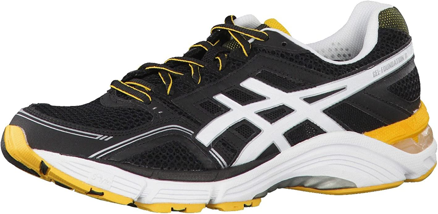ASICS GEL-FOUNDATION 11 Running Shoes (2E Width) - 14: Amazon.co.uk: Shoes  & Bags