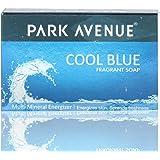 Park Avenue Bathing Soap, Cool Blue, 125g Carton