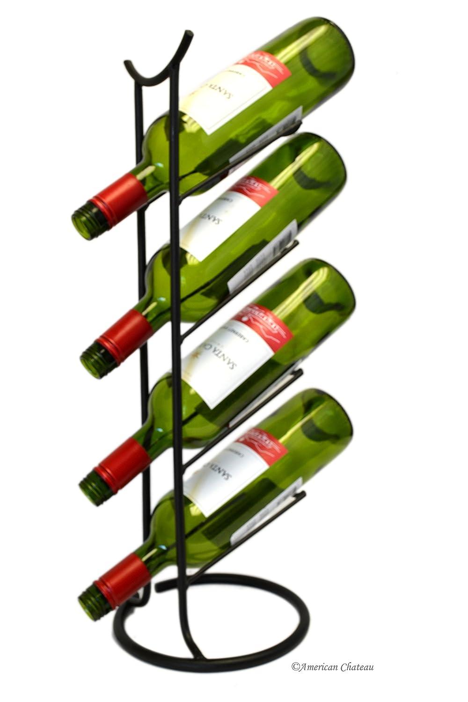 Oriental Pagoda mesa botellero Funda Vertical de vino soporte ...