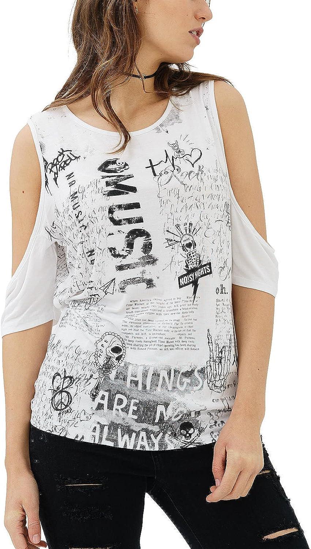 TALLA XS. trueprodigy Kristin Camiseta para Mujer
