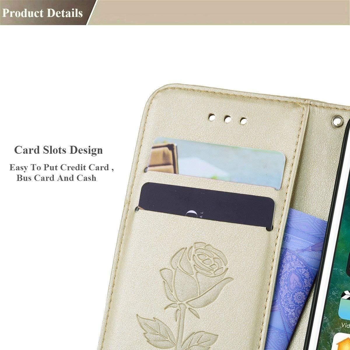 -Blau Sycode H/ülle f/ür iPhone 6S Plus,Schutzh/ülle f/ür iPhone 6S Plus,Schmetterling Baum Blume Ameise Lederh/ülle H/ülle f/ür iPhone 6S Plus//6 Plus 5.5 Zoll