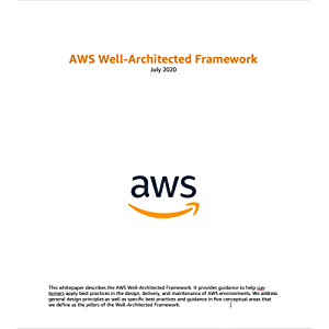 AWS Well-Architected Framework (AWS Whitepaper)