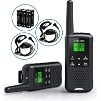 GOCOM Walkie Talkies For Adults Two-Way Radio 2,662 Channels USB Rechargeable Walkie Talkies Long Range, VOX & NOAA…