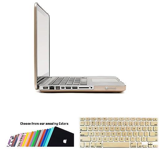 159 opinioni per Custodia MacBook Pro 13 Cover- iNeseon 2 in 1 Plastica Cover Rigida Duro Caso,