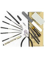 SuperNep Essential Gundam Model Building Tools Kit Set Cutter Nippers Hobby Knife Tweezers Files (Mk-I)