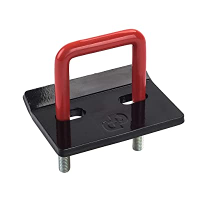 "Dependable Direct 1 Pack - Trailer Hitch Tightener - Anti-Rattle and Anti-Corrosion, Rubber Coated - 2"" Hitch Receiver: Automotive"