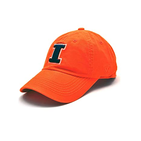 premium selection 4a91e c136d Top of the World Illinois Fighting Illini Enzyme Washed Adjustable Hat -  Orange, Adjustable