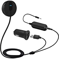 BESIGN BK01 Bluetooth Car Kit, Wireless Receiver for Handsfree Talking and Music Streaming with Ground Loop Noise…