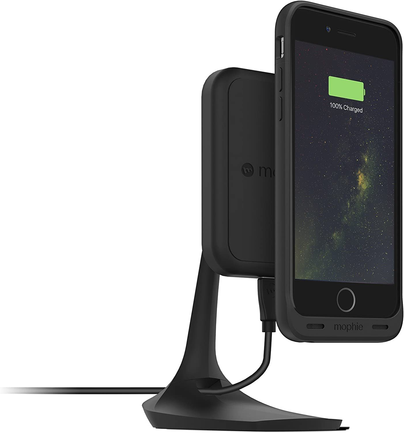 Amazon Com Mophie Charge Force Desk Mount For Mophie Wireless Case With Charge Force Wireless Power Black Charge your airpods, apple watch, and iphone in one go. mophie charge force desk mount for mophie wireless case with charge force wireless power black