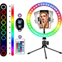 "Winjoy 16 Colors 10"" LED Ring Light"